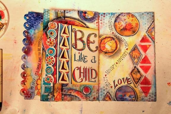 Be Like a Child, Valerie Sjodin© web